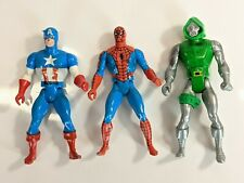 Vintage 1984 Mattel Marvel Secret Wars Spiderman Doctor Doom Captain America