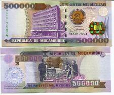 MOZAMBIQUE 500,000 500000 METICAIS 2003 P 142 UNC