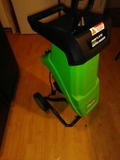 Portland 61714 Electric 14 Amp Corded Wood Chipper Shredder Leaf Compost Mulcher