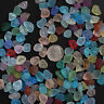 Small 20 Pieces Center Drilled Beach Sea Glass Beads Pendant For Jewelry Use
