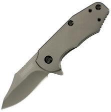 "Kershaw Ember Framelock A/O Knife 3560 2 7/8"" closed. 2"" matte gray titanium car"