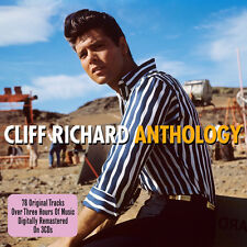 Cliff Richard ANTHOLOGY Best Of 78 Songs ESSENTIAL COLLECTION New Sealed 3 CD