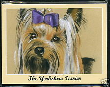 THE YORKSHIRE TERRIER - Man's Best Friend Dog Breeds Perikim Collectors Card Set