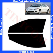 Pre Cut Window Tint Honda Civic 2 Doors Coupe 2006-2012 Front Sides Any Shade