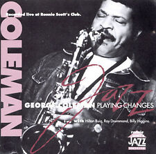 Playing Changes Coleman, George Audio CD