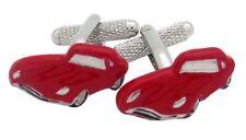 Red e Tipo Jaguar Auto Sportiva Gemelli Gemelli 18715 NUOVO IN SCATOLA REGALO