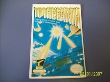 TO THE EARTH NES 8 Bit Nintendo Vidpro Card
