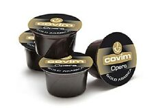 100 capsule caffè COVIM miscela GOLD ARABICA compatibili Lavazza BLUE cialde