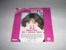 CHANTAL GALLIA 45 TOURS FRANCE VARTAN SHEILA DALIDA