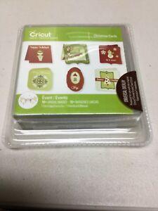 Christmas Cards Cricut Cartridge **NEW** Factory Sealed!