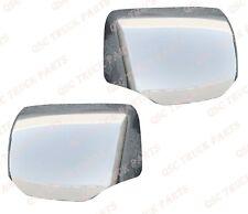 QSC Chrome Hood Mirror Cover for Kenworth T680 Peterbilt 579 Left Right Side