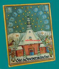 DDR Weihnachtskalender Adventskalender 1951 HELMUT RUDOLPH - Die Adventskirche
