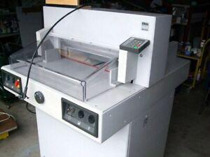 IDEAL 5221-95 EC Elektrischer Stapelschneider Papier Schneidegerät
