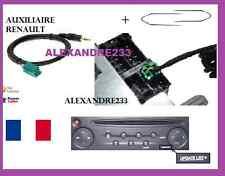 Cable aux adaptateur mp3 autoradio RENAULT UDAPTE LIST 6 pin + 2 cles kangoo 2