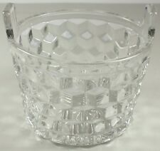 Elegant Fostoria American Small Two Handled Ice Bucket In Excellent Condition