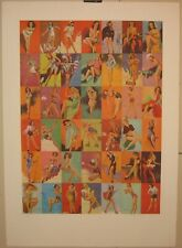 1974 PETER PHILLIPS 'Collection' Pin Up BRITISH MODERN POP ART Signed SERIGRAPH