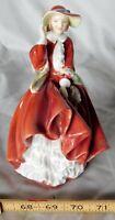Antique vtg Royal Doulton figurine HN 1834 Top o' the Hill ca. 1937 ceramic