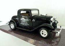 1932 Ford Coupe Jack Daniels Custom Graphics 1/24 Black Diecast
