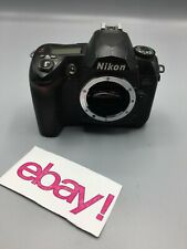 Nikon D D70s 6.1MP Digital SLR Camera Black (Body Only) -Good Condition-