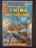 Marvel Two-In-One #47 Thing & Yancy Street Gang Marvel Comics Combine Shipping