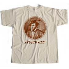 Sir Walter Raleigh Stupid Get T Shirt For Beatles Afficionados White Album!