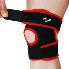 Knee Support Open-Patella Stabilizer with Adjustable Strapping Breathable Sleeve