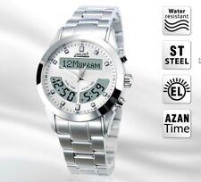 Mens Azan Wrist Watch Islamic Gift for Men