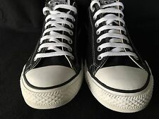 Converse All Star Low Top Unisex Size 10 Men 12 Women Black Pre Owned 9002ca10e