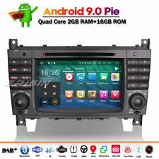 DAB+Android 9.0 Autoradio FM GPS TNT DVD Mercedes Benz C/CLC/CLK Class W203 W209