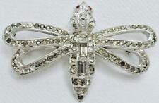 CLASSIC ANTIQUE ART DECO PASTE BUTTERFLY MOTH DRAGONFLY INSECT BUG BROOCH PIN