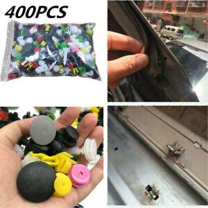 400X Car Push Pin Mixed Door Trim Panel Clip Fastener Bumper Rivet Retainer Kit