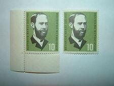1957 WEST GERMANY 10pf HEINRICH HERTZ MNH x 2 (sg1178) CV £4