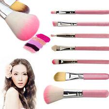 Professional 32 Pcs Make Up Brush Set Eye Cosmetic Brushes Case Pink black blue