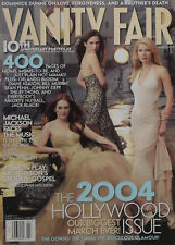 JENNIFER CONNELLY GWYNETH PALTROW JULIANNE MOORE March 2004 VANITY FAIR Magazin