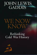 We Now Know: Rethinking Cold War History by John Lewis Gaddis (Paperback, 1998)