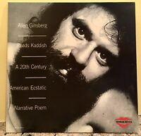 Allen Ginsberg Reads Kaddish: A 20th Century American Ecstatic (LP Near Mint)