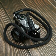 Rope Camera Strap HandMade France Beal Rope Lieca sony Black 100cm A-MoDe