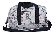 Harajuku Lovers/Gwen Stefani Print Canvas Purse/Cross Shoulder Gym Bag/Duffle