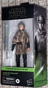 "Star Wars 6"" Black Series LUKE SKYWALKER ENDOR #04 Brand New In Hand Case Fresh"