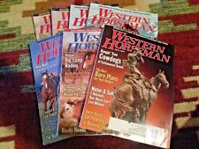 Lot of 7 Western Horseman Magazines - 2004, 2005, 2006, 2007 - Excellent