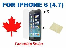"""3 x High Quality Clear HD Screen Guard Protector Film for iPhone 6 6s 4.7"""""""