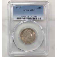 1915 Barber Quarter PCGS MS62 ***Rev Tye's Coin Stache*** #2700253