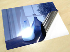 A4 Metallic Silver Waterproof VINYL INKJET Glossy Self Adhesive Labels Sticky
