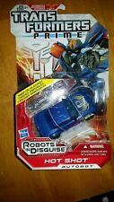 Transformers Prime RID Robots in Disguise Hot Shot Deluxe Class Autobot