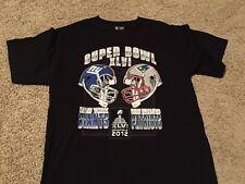 SUPER BOWL XLVI 2012 official NFL team apparel shirt Adult Medium NY Giants