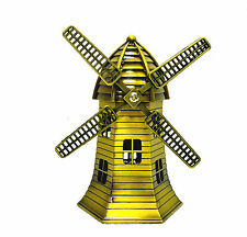 Splendid Netherlands Windmills UNESCO World Heritage Schie Model Showpiece