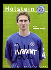 Patrick Würll Autogrammkarte Holstein Kiel 2004-05 Original Signiert+A 154827