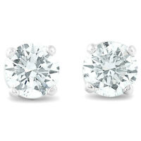 .40 ct Diamond Studs 14K White Gold