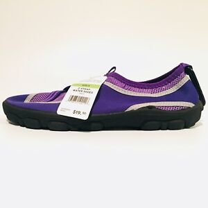 REI Purple Water Hiking Shoes Z-Strap Sports Shoes Junior Size 5 New W Tags
