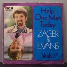 """(o) Zager & Evans - Help One Man Today (7"""" Single)"""